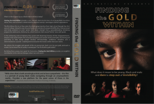 DVD Finding the Gold Within